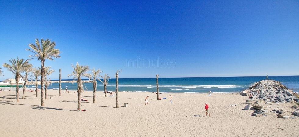Resultado de imagen de Artola (Cabo Pino) Malaga playa
