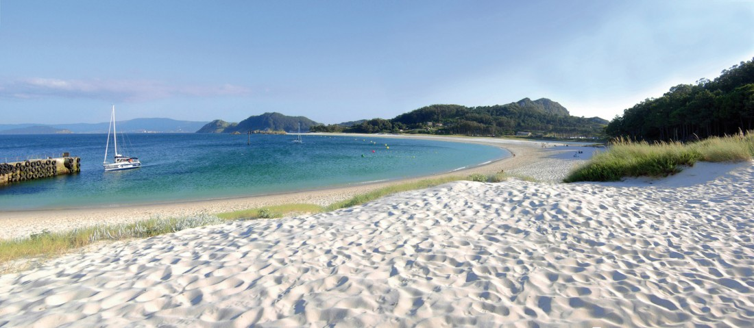 illas cies playa de rodas