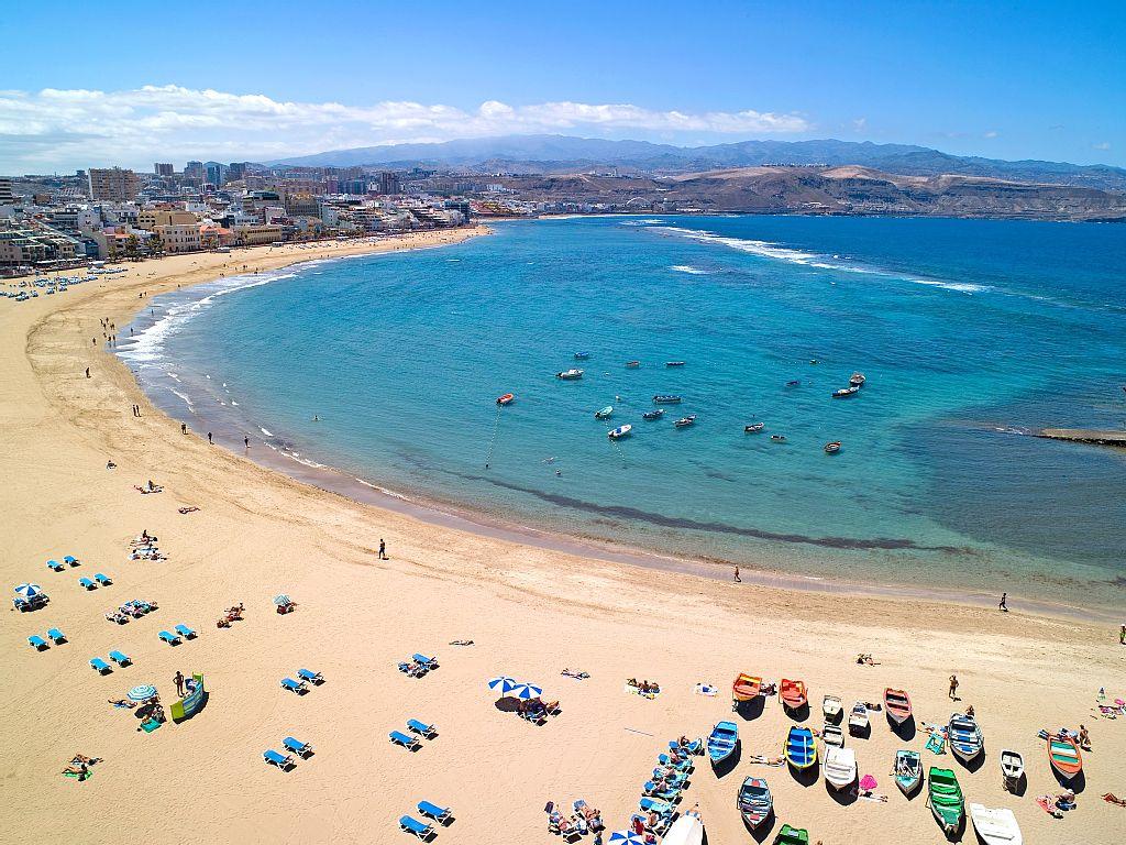 Playa Las Canteras / Gran Canaria - La Mejor Playa