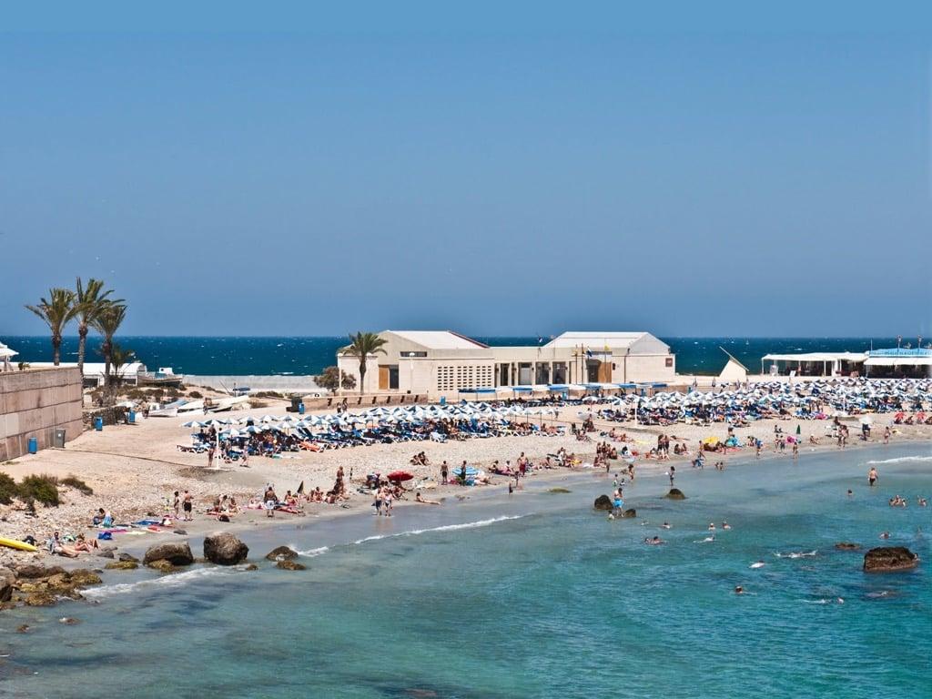 Playa isla tabarca playa central la mejor playa - Hoteles en isla tabarca ...